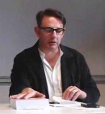Jean-Robert Raviot en conférence