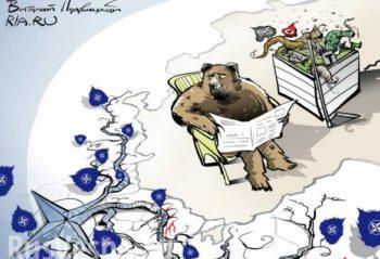 Dessin: ne pas effrayer la Russie
